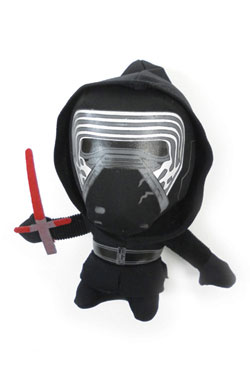 Star Wars Episode VII peluche Super-Deformed Kylo Ren 18 cm