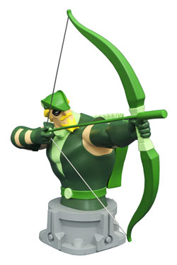 Justice League Unlimited Animated buste Green Arrow 15 cm