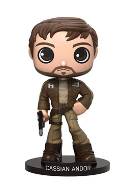 Star Wars Rogue One Wacky Wobbler Bobble Head Cassian Andor 15 cm