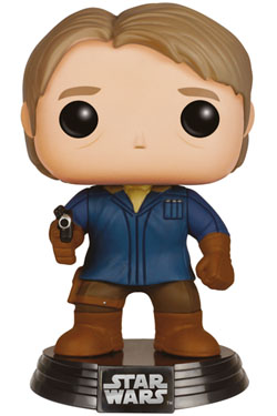 STAR WARS Episode VII POP! Vinyl Bobble Head Han Solo (Snow Gear) 9 cm