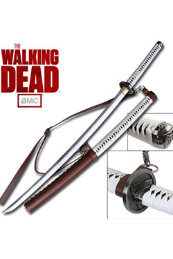 The Walking Dead réplique 1/1 Katana de Michonne Deluxe Collectors Edition 105 cm