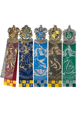 Harry Potter pack 5 marque-pages Crest