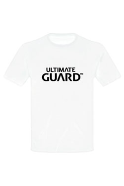 Ultimate Guard T-Shirt Wordmark Blanc (XL)