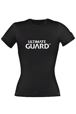 Ultimate Guard T-Shirt femme Wordmark Noir (L)