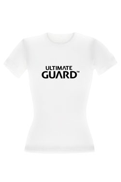 Ultimate Guard T-Shirt femme Wordmark Blanc (L)