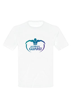 Ultimate Guard T-Shirt Logo Blanc (XL)