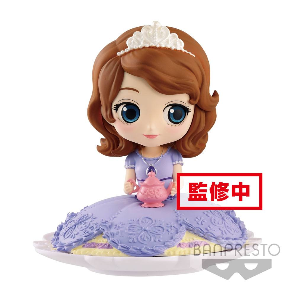 Disney figurine Q Posket SUGIRLY Sofia Normal Color Ver. 9 cm