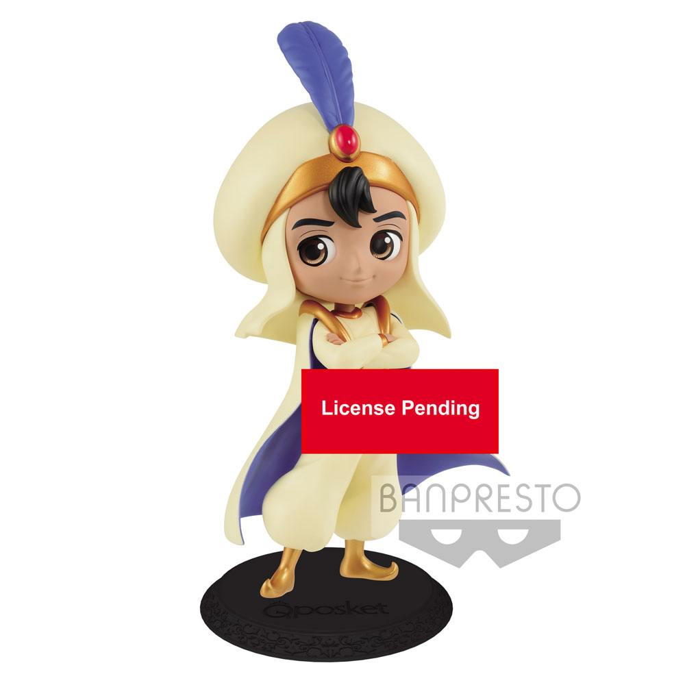 Disney figurine Q Posket Aladdin Prince Style Normal Color Ver. 14 cm