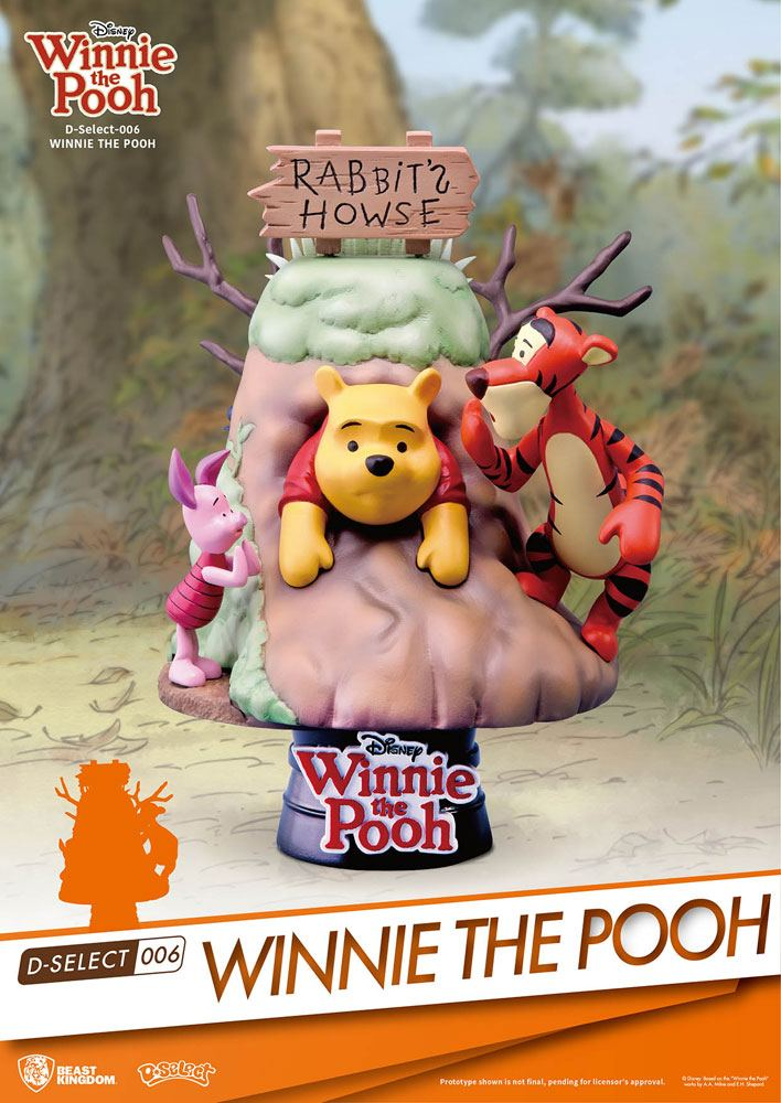Winnie l´ourson diorama PVC D-Select 14 cm
