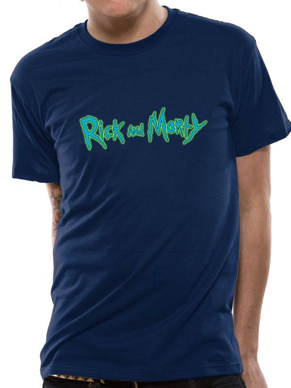 Rick & Morty T-Shirt Logo (L)