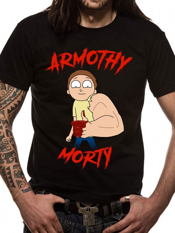 Rick & Morty T-Shirt Armothy Morty (XL)