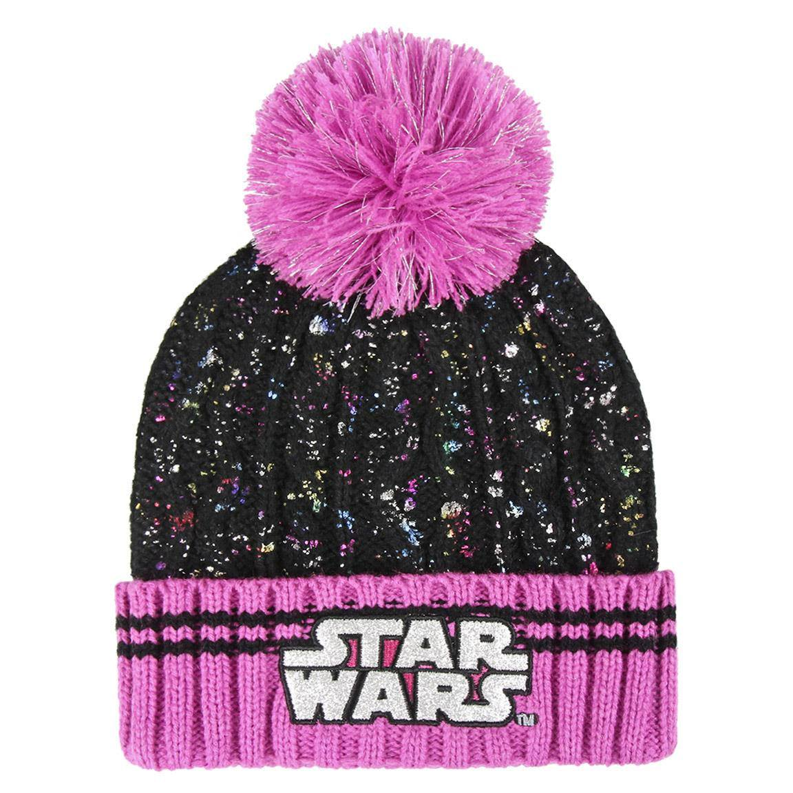Star Wars bonnet Pompon Logo