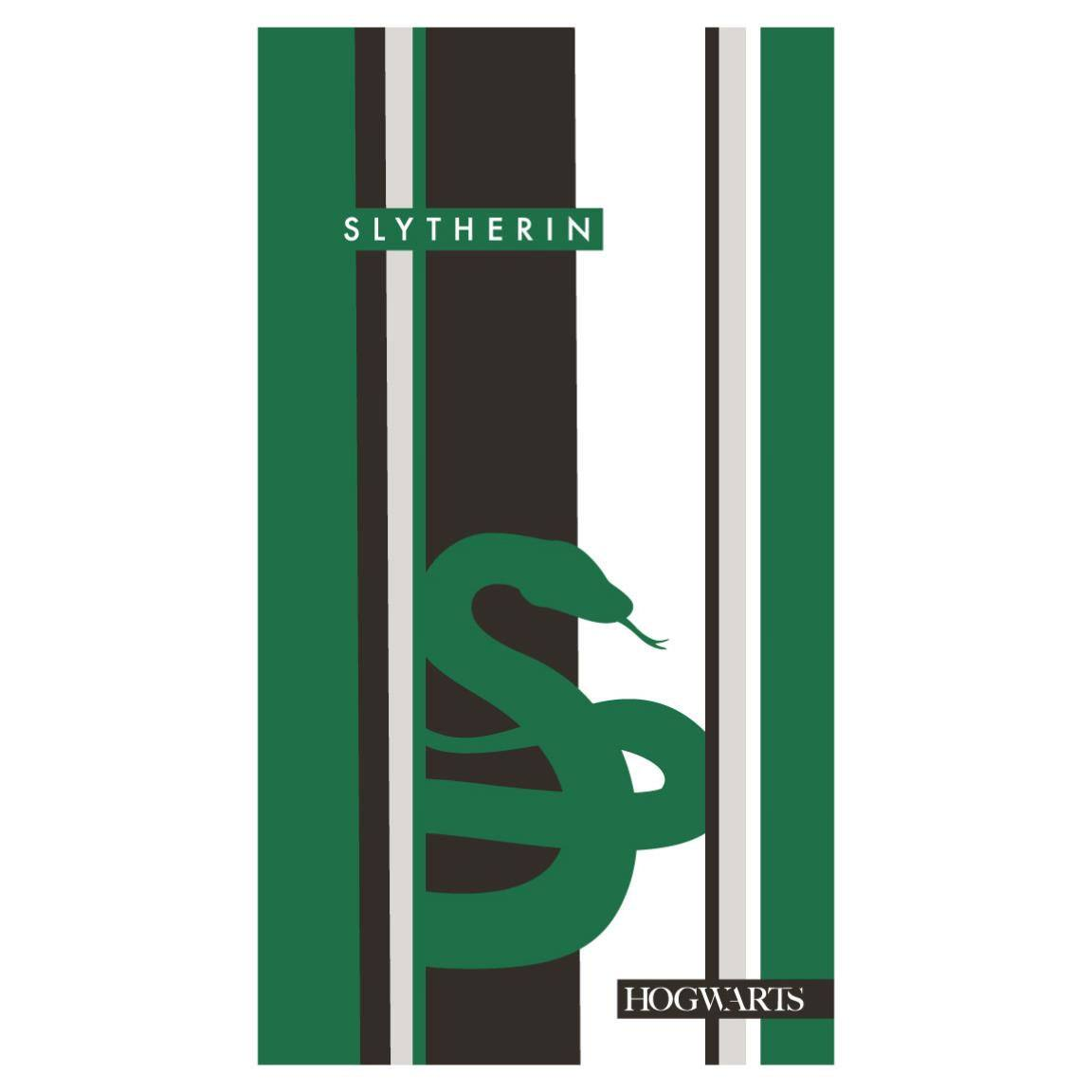 Harry Potter serviette de bain Slytherin 180 x 90 cm