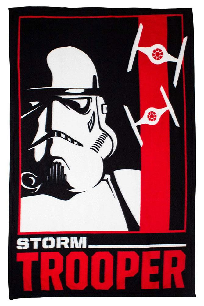 Star Wars couverture polaire Stormtrooper 150 x 120 cm