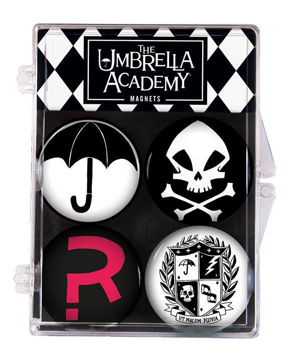 The Umbrella Academy pack 4 aimants