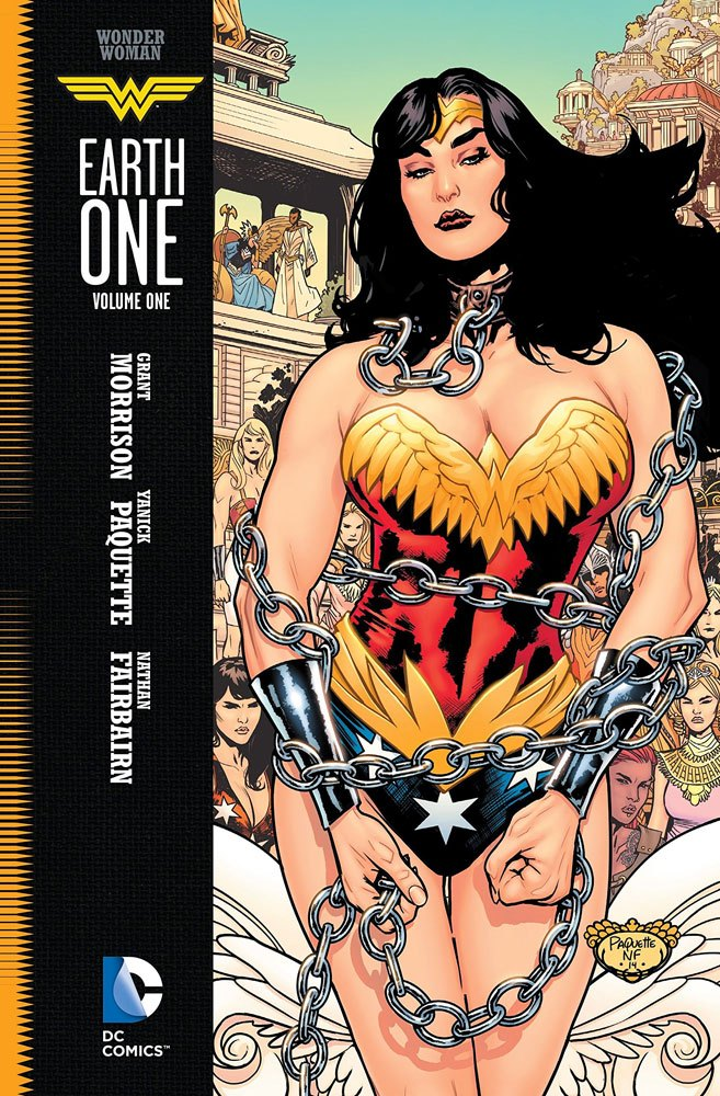 DC Comics bande dessinée Wonder Woman Vol. 1 Earth One by Grant Morrison *ANGLAIS*
