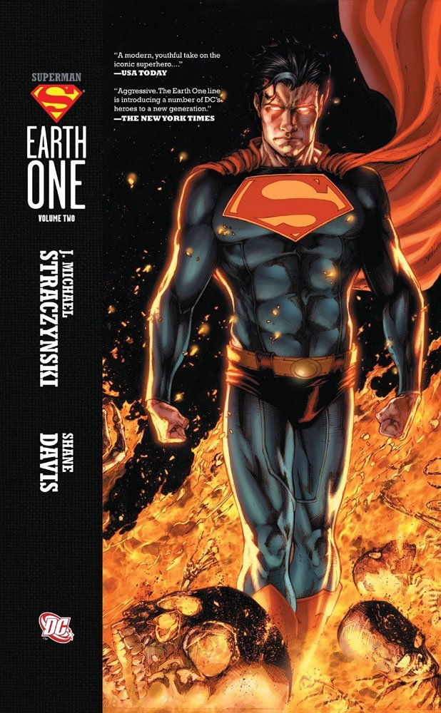 DC Comics bande dessinée Superman Earth One Vol. 02 by J. Michael Straczynski *ANGLAIS*
