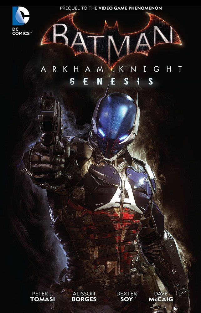 DC Comics bande dessinée Batman Arkham Knight Genesis by Peter Tomasi *ANGLAIS*