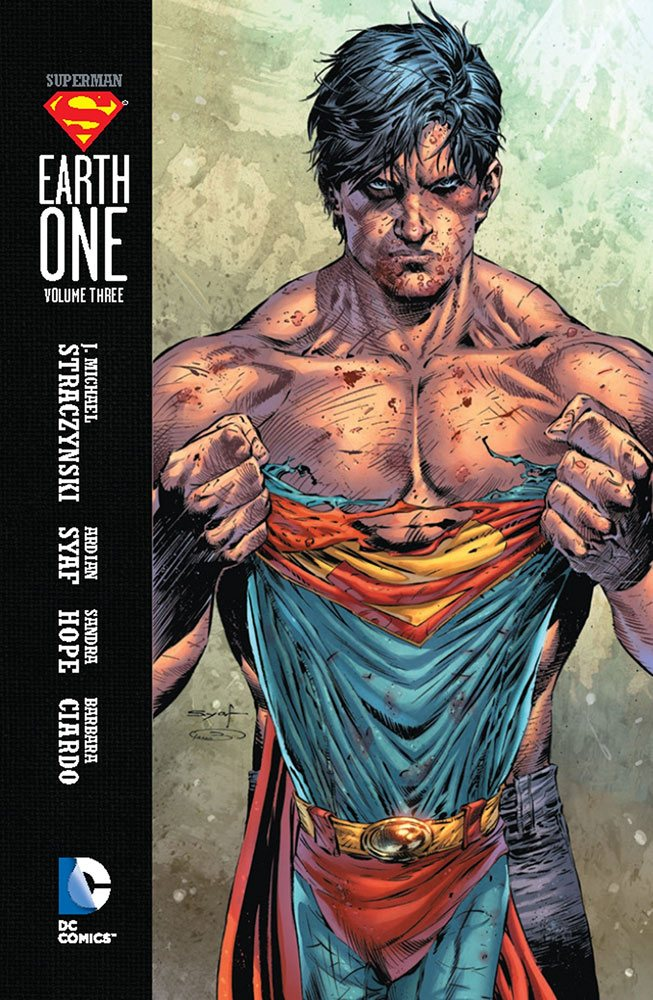 DC Comics bande dessinée Superman Earth One Vol. 03 by J. Michael Straczynski *ANGLAIS*