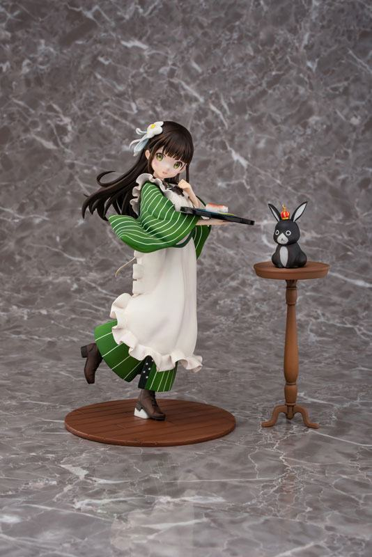 Is the Order a Rabbit statuette PVC 1/7 Chiya 23 cm