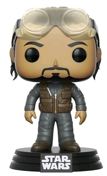 Star Wars Rogue One POP! Vinyl Bobble Head Bodhi Summer Convention Exclusive 9 cm