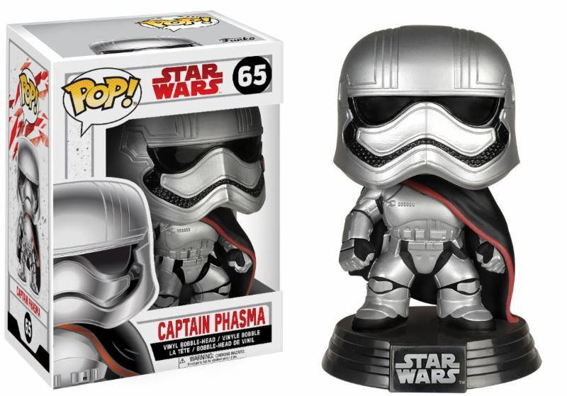 Star Wars Episode VIII POP! Vinyl Bobble Head Captain Phasma 9 cm
