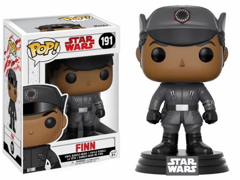 Star Wars Episode VIII POP! Vinyl Bobble Head Finn 9 cm