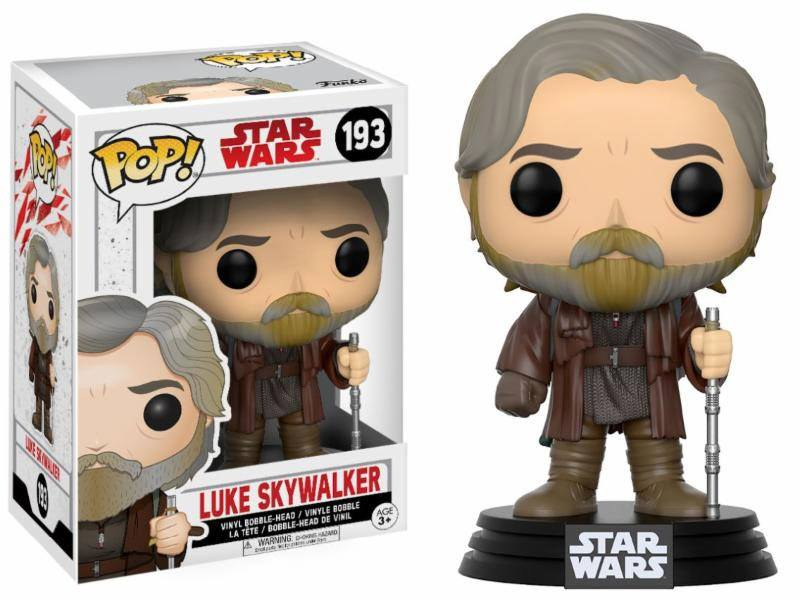 Star Wars Episode VIII POP! Vinyl Bobble Head Luke Skywalker 9 cm