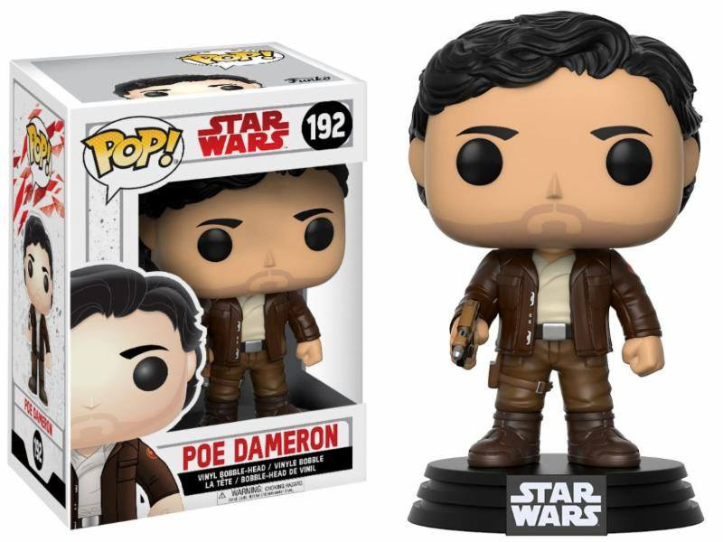 Star Wars Episode VIII POP! Vinyl Bobble Head Poe Dameron 9 cm