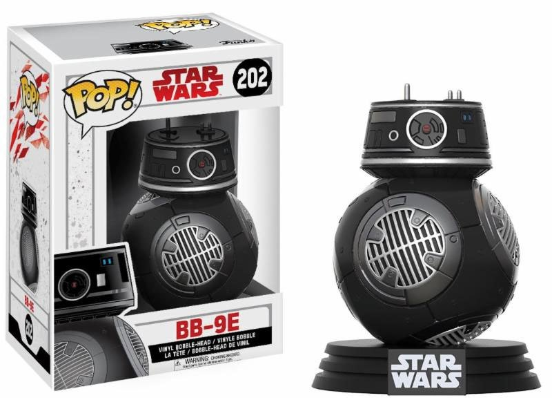 Star Wars Episode VIII POP! Vinyl Bobble Head BB-9E 9 cm