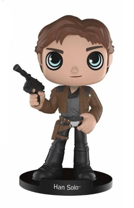 Star Wars Solo Wacky Wobbler Bobble Head Han Solo 15 cm