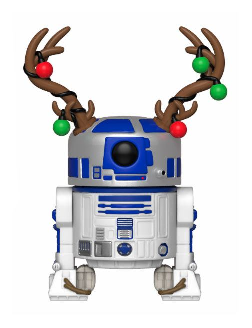 Star Wars POP! Vinyl Bobble Head Holiday R2-D2 9 cm