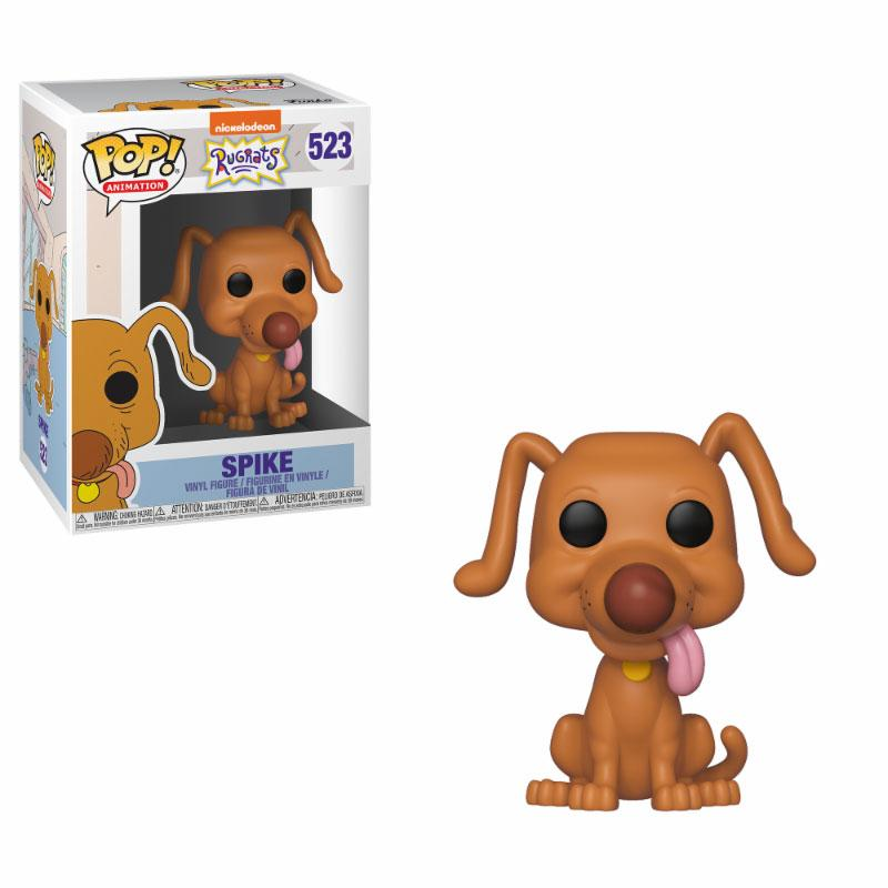 Les Razmoket Figurine POP! Animation Vinyl Spike 9 cm
