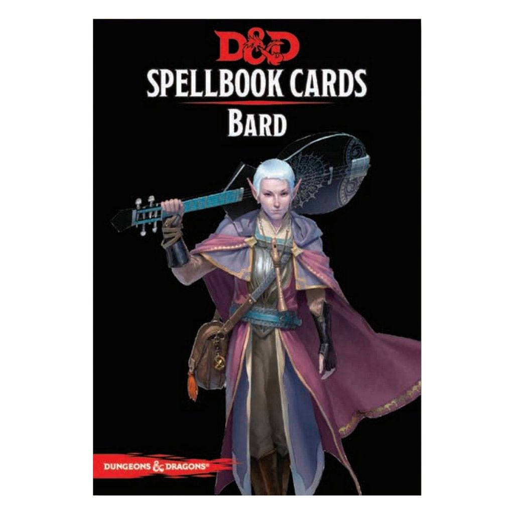 Dungeons & Dragons jeu de cartes Spellbook Cards: Bard Deck *ANGLAIS*