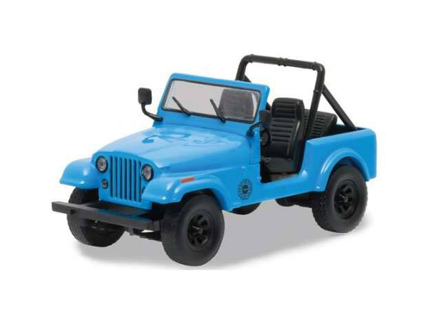 Lost 1977 Jeep CJ-7 Dharma 1/64 métal