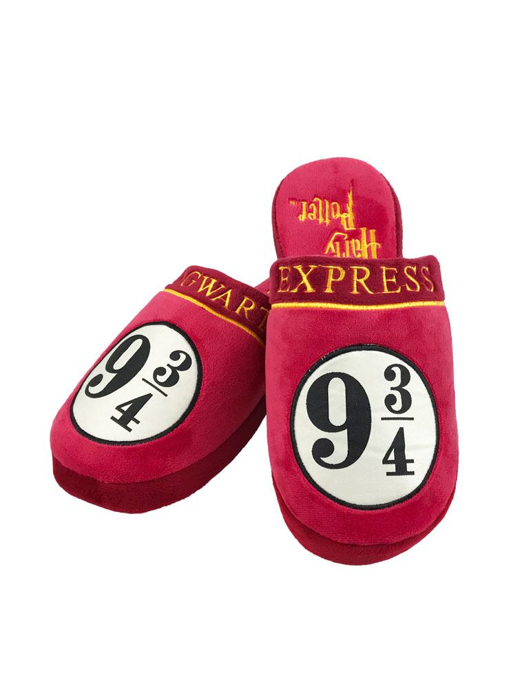 Harry Potter chaussons 9 3/4 Hogwarts Express (L)