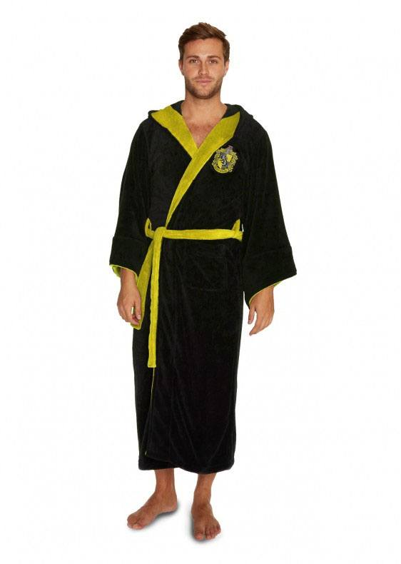 Harry Potter peignoir de bain Hufflepuff