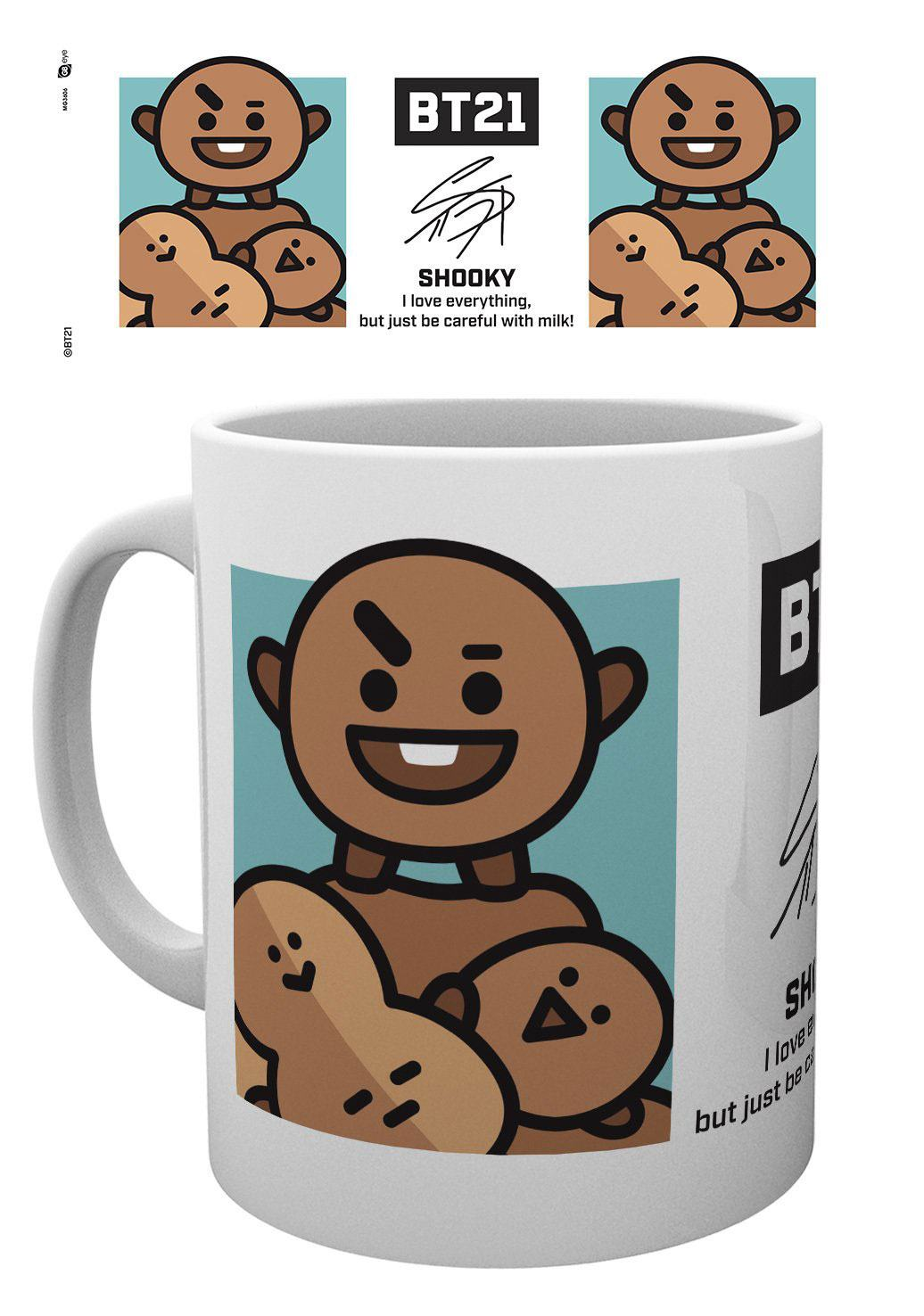 BT21 mug Shooky