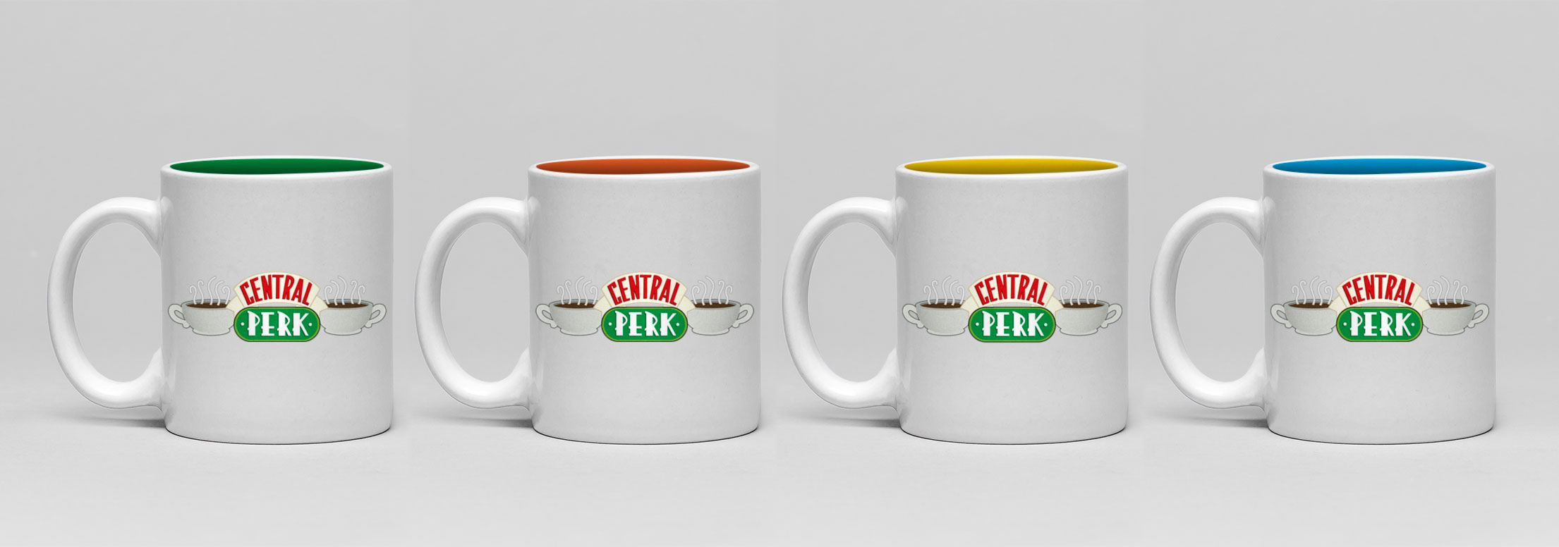Friends pack 4 tasses Espresso Central Perk