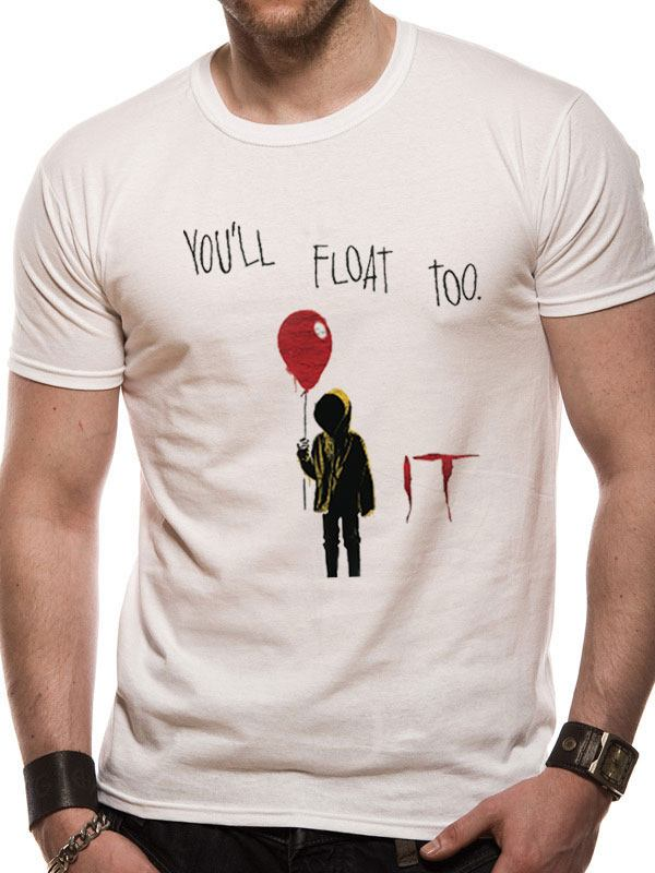 Ça (It) T-Shirt You'll Float Too (M)