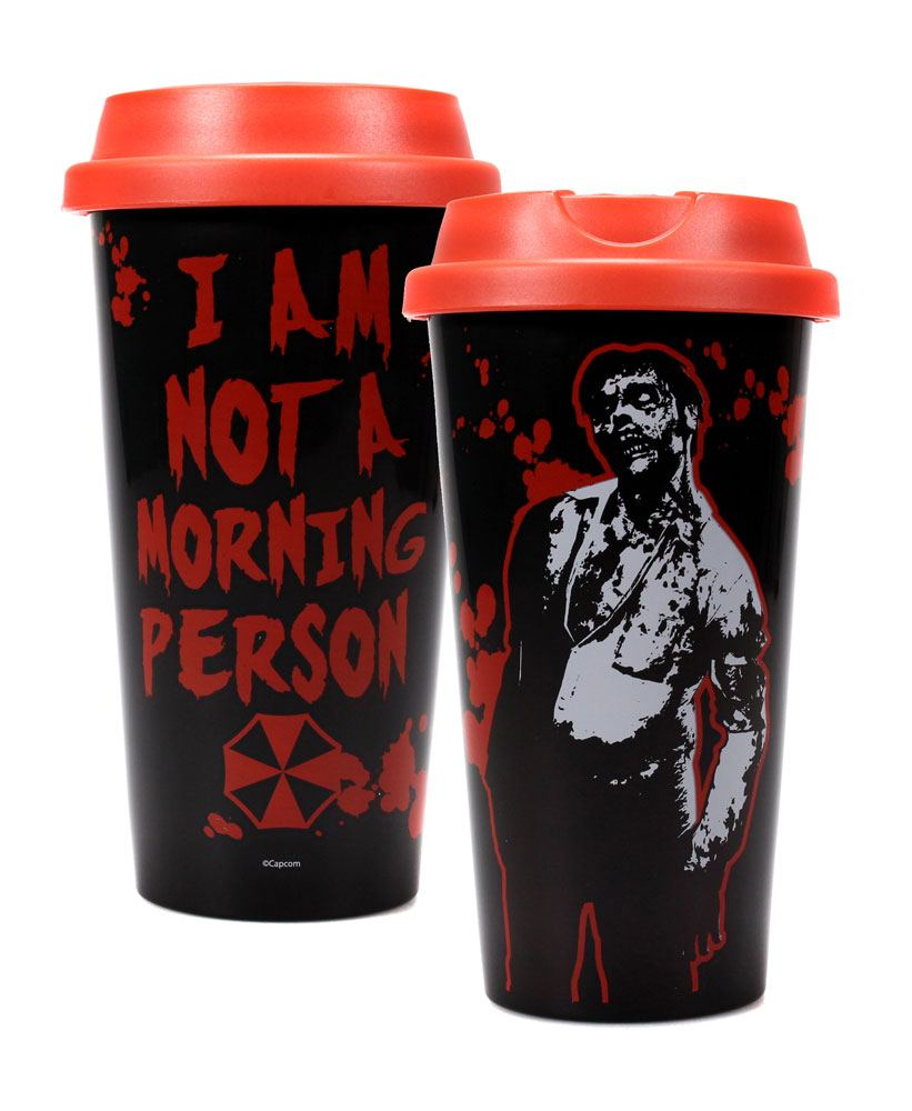 Resident Evil mug de voyage Morning Person