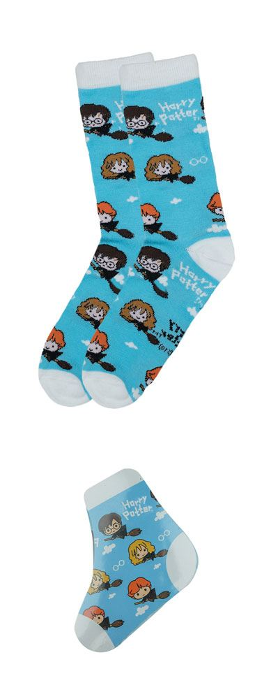 Harry Potter chaussettes magiques Single Pack Hogwarts Kawaii