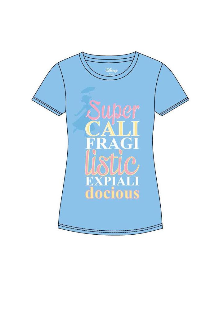 Mary Poppins T-Shirt femme Super (XL)