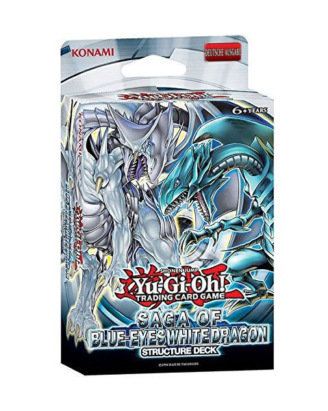 Yu-Gi-Oh! présentoir Structure decks Saga of Blue-Eyes White Dragon (8) *ALLEMAND*
