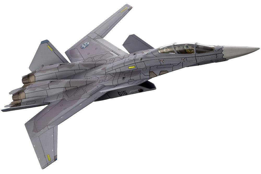 Ace Combat 7: Skies Unknown maquette Plastic Model Kit 1/144 X-02S For Modelers Edition 15 cm
