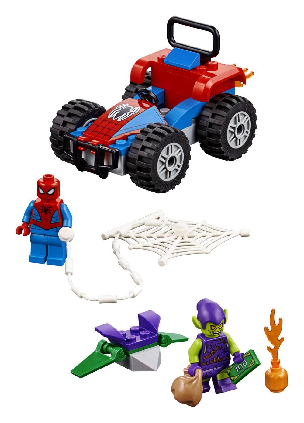 Voiture En Marvel HeroesSpider Et Course Man La Super Lego® Poursuite TculKFJ13