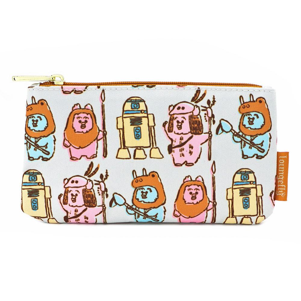 Star Wars by Loungefly sac cosmétique Pastel Ewoks AOP