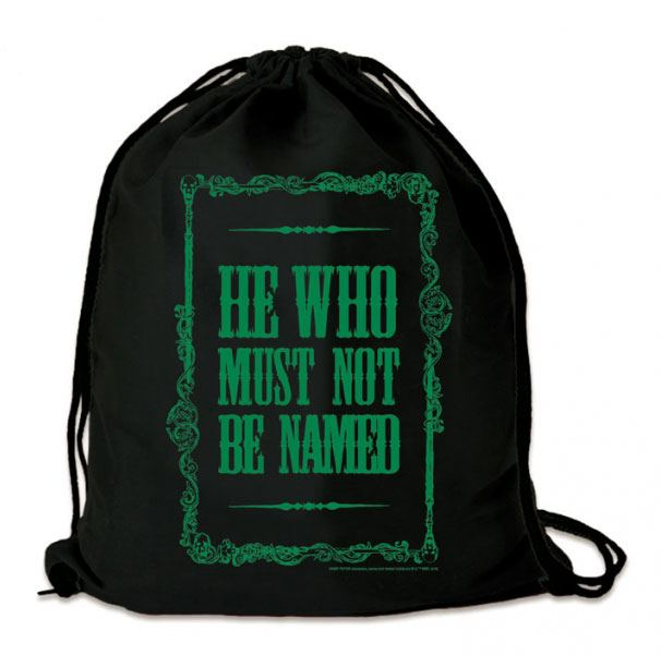 Harry Potter sac en toile He Who Must Not Be Named
