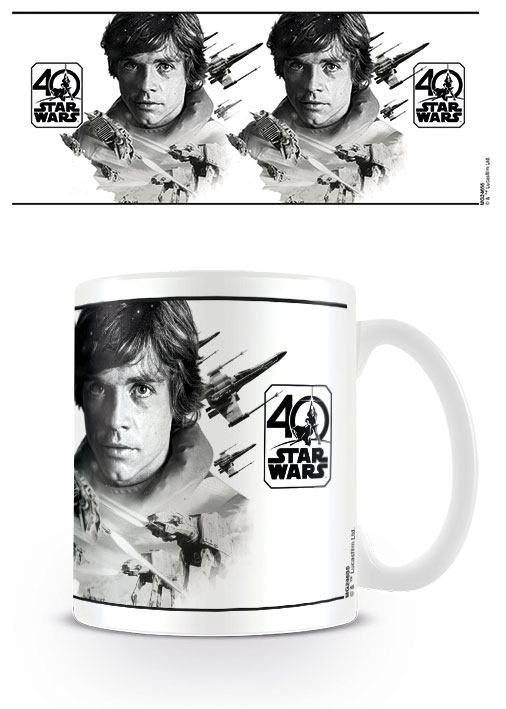 Star Wars mug 40th Anniversary (Luke Skywalker)