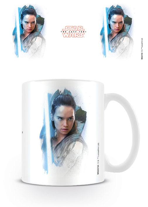 Star Wars Episode VIII mug Rey Brushstroke